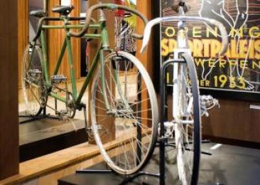 gangmakingstandem (fiets) uit Sportpaleis Antwerpen
